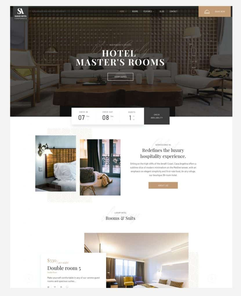 Hotel & Resort Web Design & Development