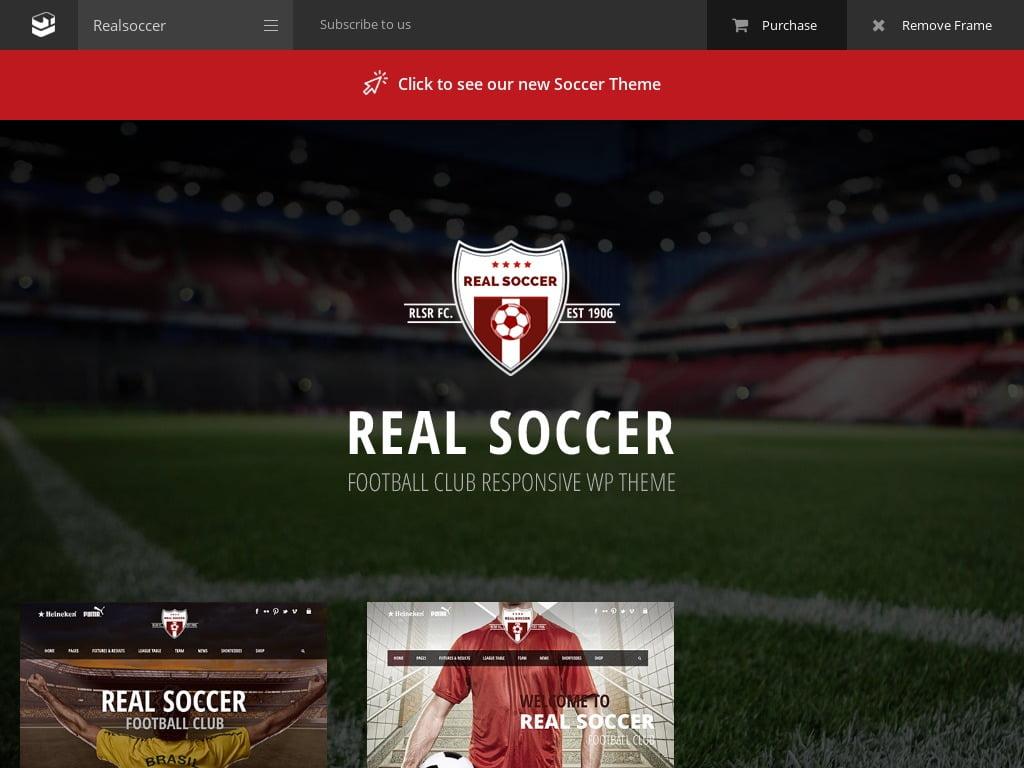 Soccer Sports Website Design Services